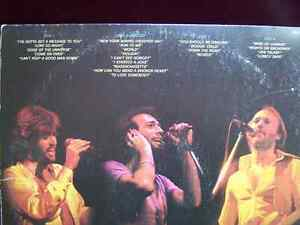 Bee Gees - 1 LP (live double) and 9 45 Vinyl records Cambridge Kitchener Area image 4