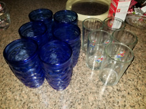 All drinking glasses