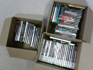 lot of 61 Xbox and xbox 360 games - well taken care of