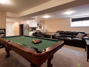 Pool Table in Great Condition with Tennis Table Top