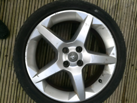 Vauxhall 4 stud alloy wheel 16 inch ,£15