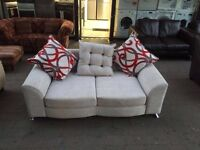 ***NEW EX DISPLAY 3 seater fabric sofa for SALE ***