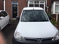 Van for sale , Vauxhall combo crew cab