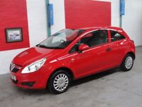 Vauxhall Corsa 1.0I ECOFLEX S 65PS (red) 2010