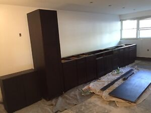 FOR SALE: Brand New Mocha Maple Cabinets