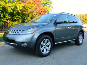 2006 NISSAN MURANO AWD, COLD AIR, FULLY LOADED, READY FOR WINTER