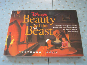 Brand New Disney's Beauty and the Beast Postcard Book