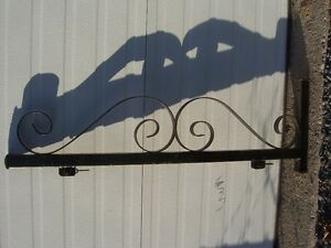 Antique looking hand forged sign bracket Kingston Kingston Area image 4