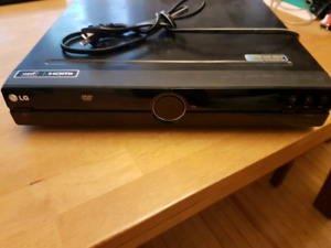 LG receiver and DVD player