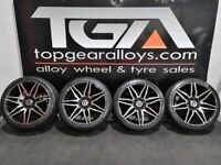 "19"" Mercedes Style Alloy Wheels & Tyres Suitable For E-Class"