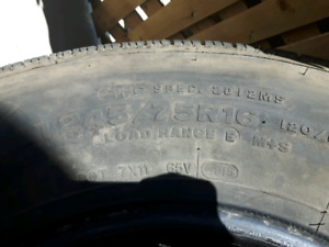 SET OF 4 245/75R16 FOR SALE