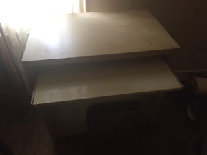 computer desk with keyboard tray FREE
