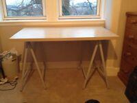 Fold away desk