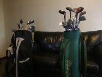 Two golf sets 1x Macgregors & 1x Daytona