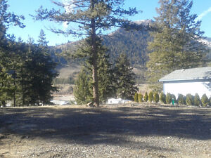RV lot with river view