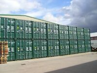 Self storage 20ft containers 30pw