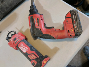 Milwaukee cordless m18 fuel set
