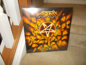 "ANTHRAX-CANNIBAL CORPSE-SLAYER ""SEALED"" VINYL RECORDS"