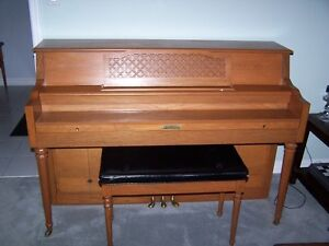 Currier Upright Piano London Ontario image 1