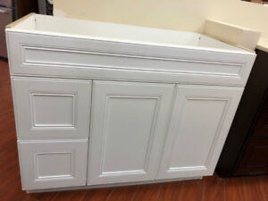 S-A-L-E vanity cabinet demos on floor!! catch your discount!!