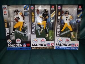 "McFarlane Pittsburgh Killer Bs (Ben, Bell & Brown) 6"" figures BN"