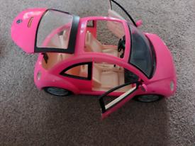Barbie volkswagen beatle car