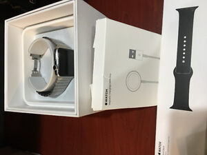 42mm Apple Watch Stainless Steel Excellent Condition