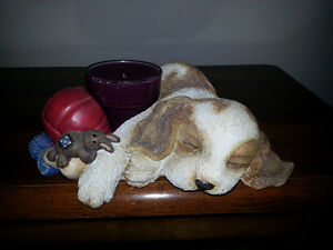 Puppy Candle Holder