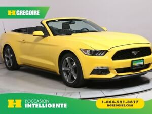 2016 Ford Mustang V6 AUTO CONVERTIBLE MAGS BLUETOOTH CAMERA RECU