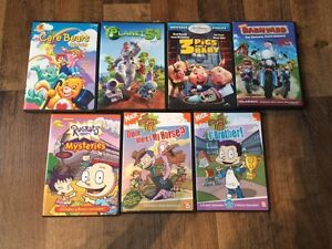 Various kids DVD's