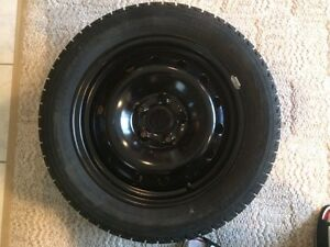 2 sets of winter tires with rims