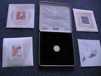 Canada Post 1999-2000 Millenium Stamps and Coin
