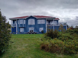 executive home overlooking Conception Bay and Long Pond Harbour