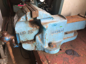 Mechanic's Vise, made by Record.