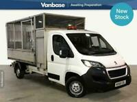 2018 Peugeot Boxer 335 2.0 BlueHDI 130 Business Plus Long Wheelbase L2 Caged Tip