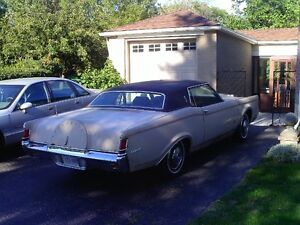 1971+1969  LINCOLN MK III ---  PARTING OUT