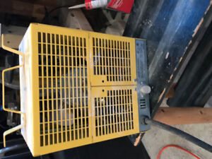 240v construction heater