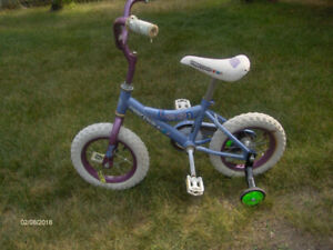 Small girls bike 12 ' wheels