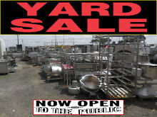 CATERING EQUIPMENT- YARD CLEARANCE SALE - RESTAURANT EQUIPMENT Melbourne Region Preview
