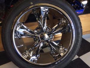 17 Foose Legends 5x4.5/114.3 on Sumitomo Perf Tires