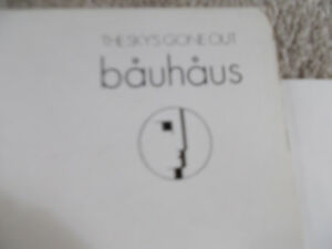 Bauhaus The Sky's Gone Out Vinyl Record
