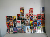 Une centaine de cassette VHS de tout genre( science fiction, sus