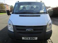 Ford Transit 2.4TDCi LWB 14ft flatbed T350L RWD with full service history (47)