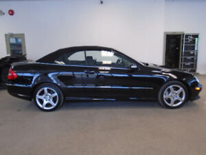 2008 MERCEDES CLK350 CONVERTIBLE! 1 OWNER! 71,000KMS! $17,900!!!