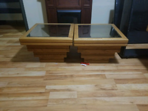 Unique side table and central table