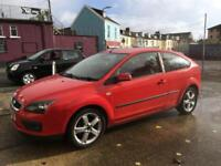 Ford Focus 1.8 125 Zetec Climate Flash Red fully serviced and new 12 months mot