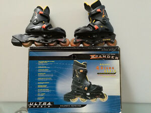 Buy Children In-line skates & helmet for one price