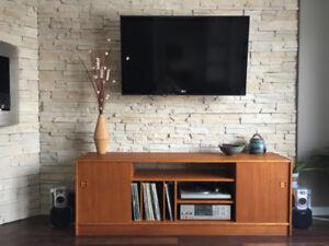Meuble Tele Stereo En Teck ** Danish Teak TV / Stereo Cabinet