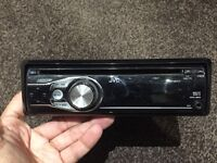 JVC KD R311 stereo with front aux port