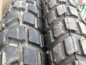 Brand new take off tires 80/100-21 and 120/90-18
